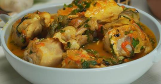 Обалденное «Чахохбили» из курицы - вкуснее не едала