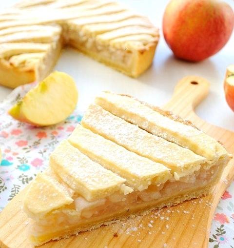 Яблочный пирог Польская шарлотка