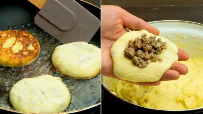 Вроде очень просто, но как же вкусно получается! Картофельные котлеты с сюрпризом. Всегда выручают.