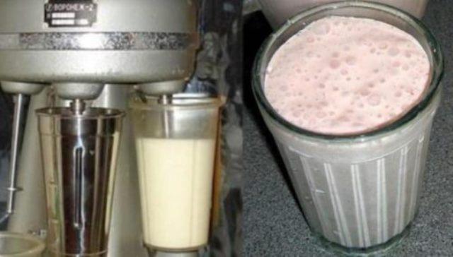 Коктейль молочный по ГОСТу