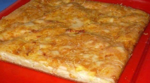 Наливной пирог с сыром, который хочется готовить каждый день! Вкусно до безумия!