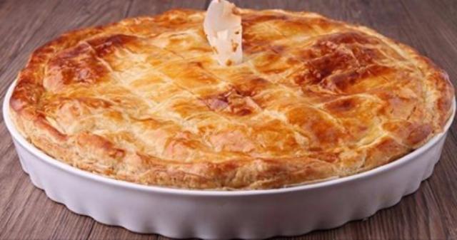 Очень простой и полезный пирог с капустой «Ресторанный»