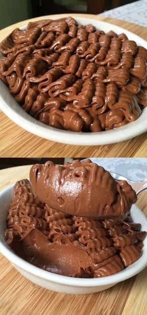 Шоколадный мусс всего за 20 минут! Муж будет носить Вас на руках за такую вкусняшку!
