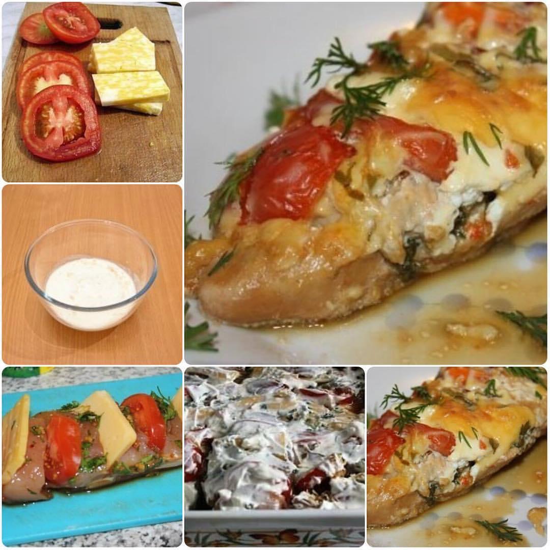 """Куриное филе """"Зебра"""". Этот рецепт, делает куриное филе очень сочным, пикантным и вкусным."""