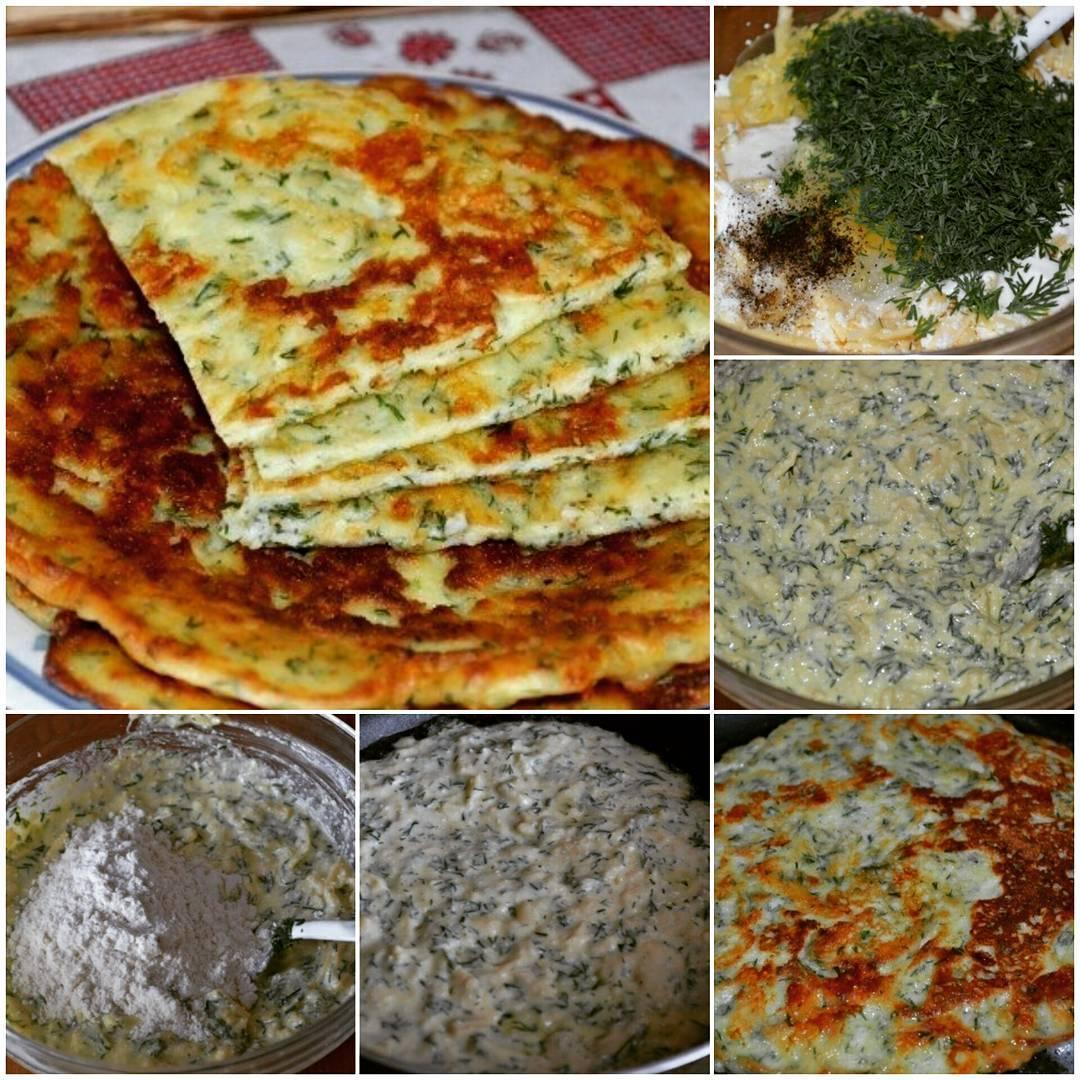 Сырные лепешки по этому рецепту можно приготовить без заморочек и трудностей за считанные минуты