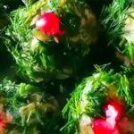 Закусочные ежики из сельди - изумительно вкусная и быстрая новогодняя закуска