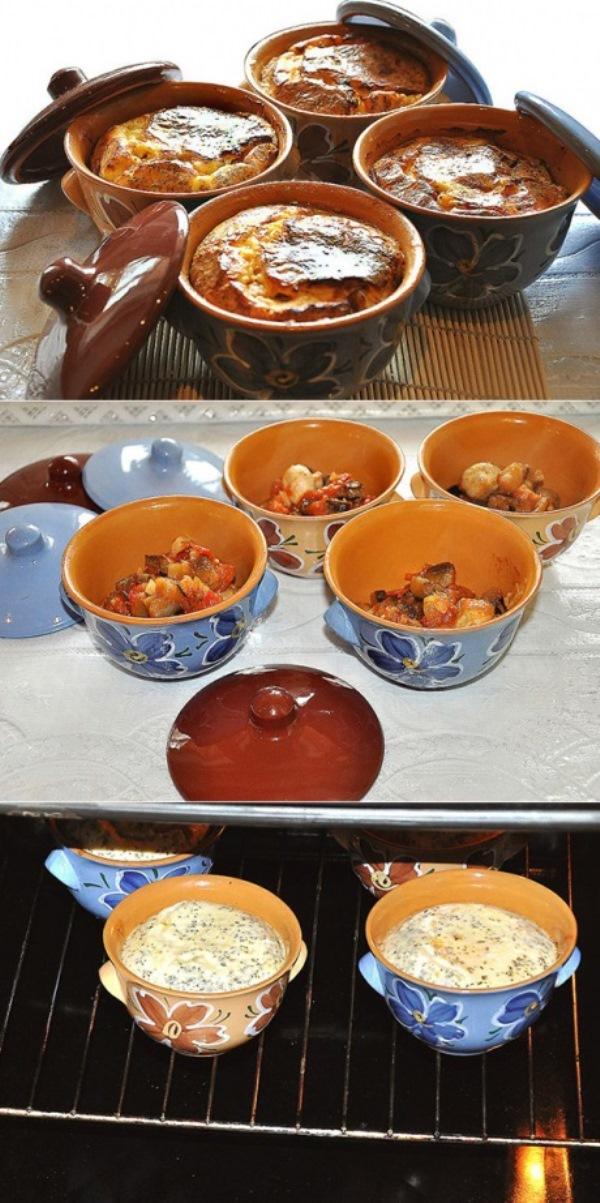 Нежнейшие овощи с соусом, запеченные в волшебных горшочках — это блаженство вкуса.