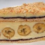 Банановый торт рецепт