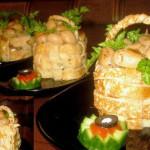 салат с курицей, фото