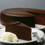 шоколадный торт Захер фото