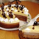 торт три шоколада рецепт с фото