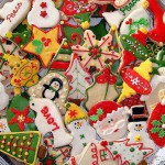 Как украсить печенье на новый год