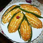 салат с кукурузой и огурцами фото