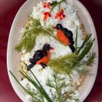 салат из копченой курицы с ананасом фото
