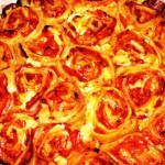 ролл пицца рецепт с фото