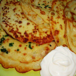 картофельные блины фото