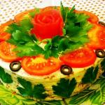 кабачковый тортик фото