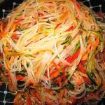 салат Фунчоза по-корейски фото