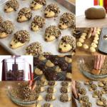 печенье Ежики фото