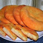 пироги с картошкой и луком фото