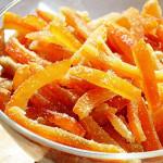 цукаты из апельсиновых корочек рецепт с фото