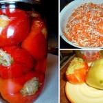 Перец фаршированный капустой на зиму рецепт с фото