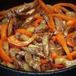 Мясо по-тайски фото