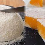 Тающий во рту десерт «Яйцо страуса»