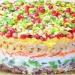 «Драгоценная россыпь»-просто королевский салат!