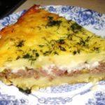 Рецепт картофельной запеканки с фаршем в духовке с луком и сыром