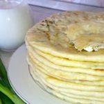 Лепешки с творогом ароматные, изумительные, бесподобно вкусные и пекутся на сухой сковороде, что полезнее!