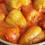 Рецепт перца фаршированного мясом