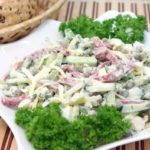 Вкусный салат «На скорую руку»