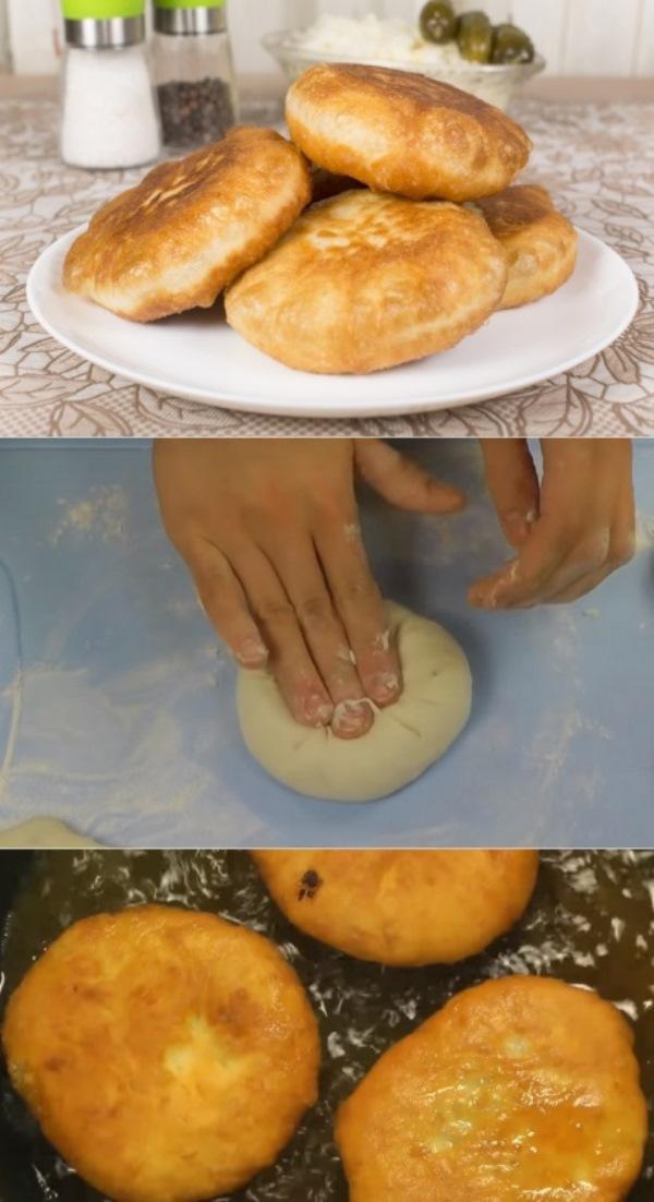 Приготовив эти беляши, вы вряд ли посмотрите в сторону нездоровой уличной еды!