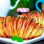 Возьмите на заметку мой коронный рецепт картошка «Гармошка». Отменная вкусняшка!