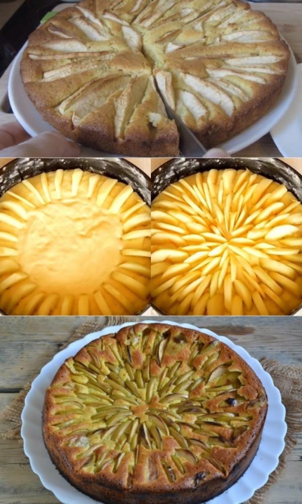 Корнуэльский яблочный пирог: устал диктовать гостям рецепт, звонят третий день. Пирог-сказка с родины короля Артура.