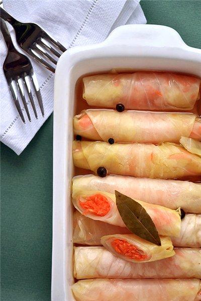 Рецепт-открытие! Маринованные капустные рулетики - ВКУСНОТИЩА НЕОБЫКНОВЕННАЯ! Мировая закуска, гости буквально сметают ее со стола!