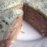 Печеночный торт получился изумительным. Необычно и ооочень вкусно.