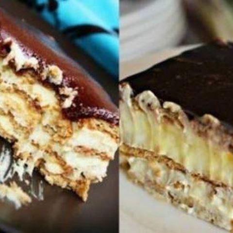 Просто обожаю этот десерт за его потрясающий вкус. Главное не требует НИКАКОЙ выпечки. Отличный рецепт.ТОРТ - ЭКЛЕР ИЗ ПЕЧЕНЬЯ БЕЗ ВЫПЕЧКИ