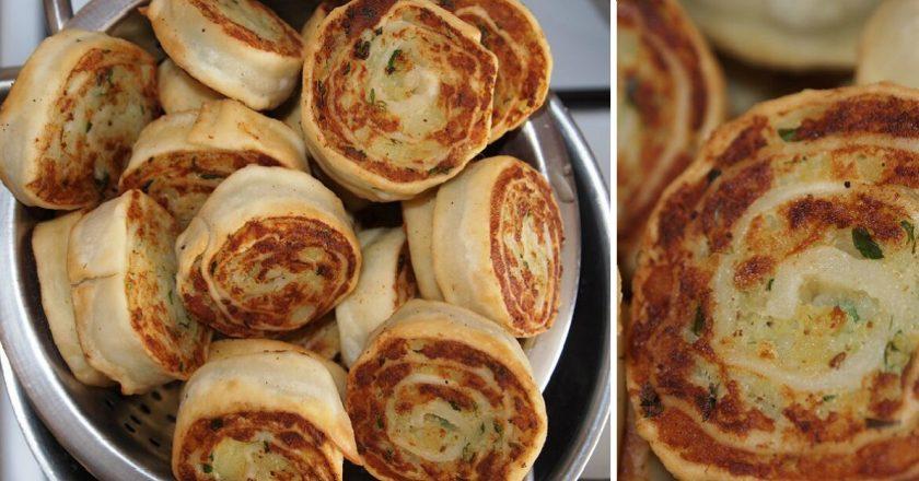 Алупатры (картофельные рулетики)… Очень вкусно, сочно, просто сказка