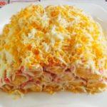 Это не просто салат, это чудо кулинарии - закуска «Монастырская изба»