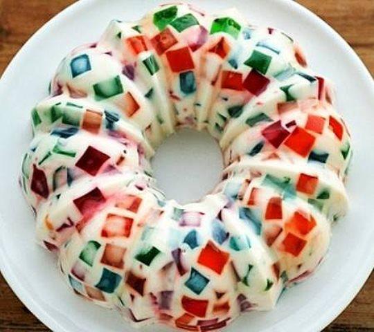 Простой, вкусный и красивый десерт для всей семьи! Торт Битое стекло за 5 минут без выпечки