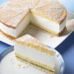 Когда-то давно нашла рецепт творожно-сливочного торта на страницах кулинарного журнала, сразу влюбилась в него. Торт очень интересный, готовится быстро, с изюминкой! Угощайтесь!