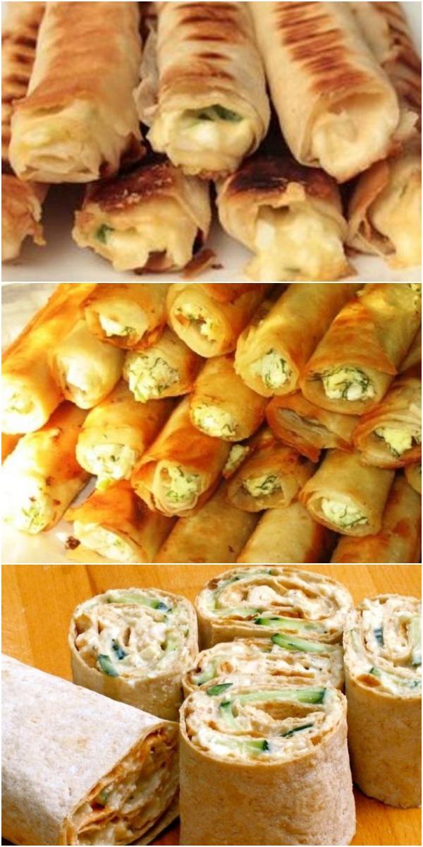 Обалденная закуска из лаваша: для пикника и не только