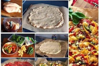 Нежнейшая пицца без муки: польза в каждом кусочке, да и талия не пострадает!