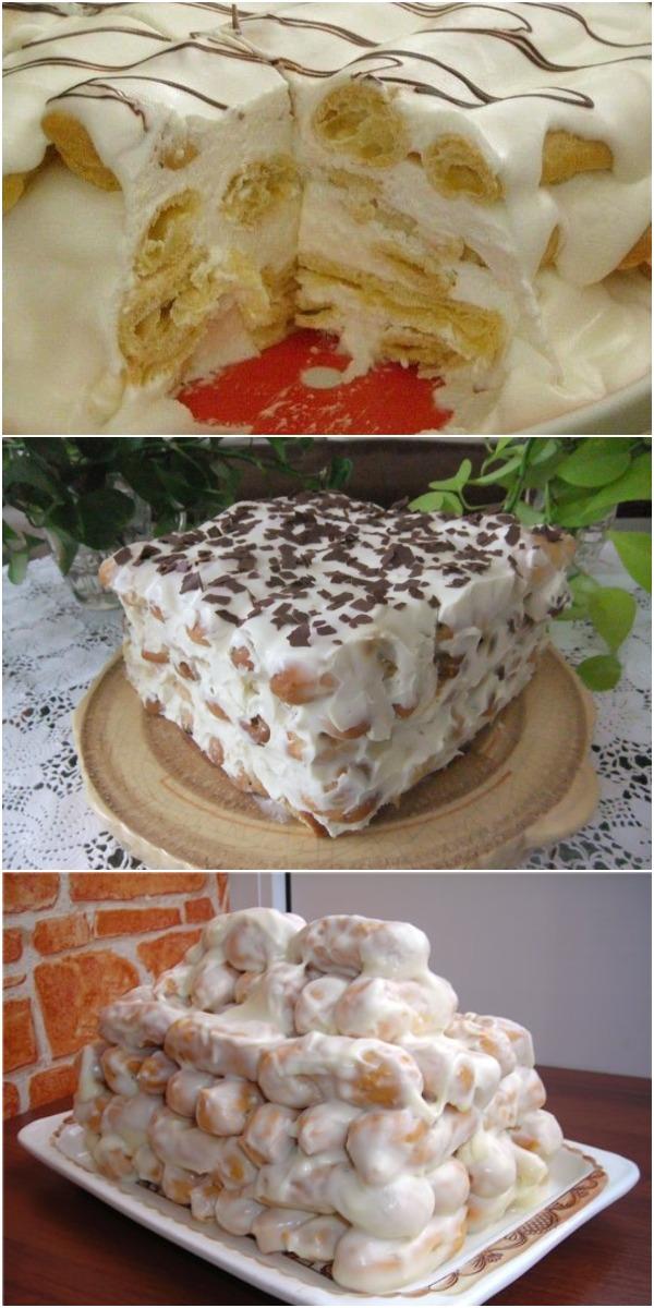 Торт «Поленница», которым я ПОКОРИЛА свекровь