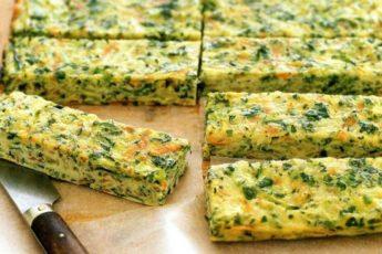 Питательные батончики с сыром и брокколи «Энергетик»