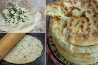 Невероятно вкусные хычины с сыром и зеленью