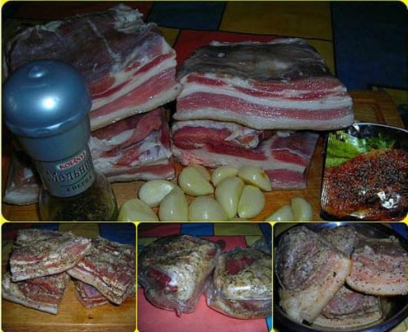 Свиная грудинка (в пакетах) - нереально вкусно