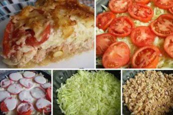 НЕЖНАЯ ЗАПЕКАНКА С КАБАЧКАМИ! Вкуснейший рецепт! Блюдо вне конкуренции! Сохраните себе — точно пригодится.